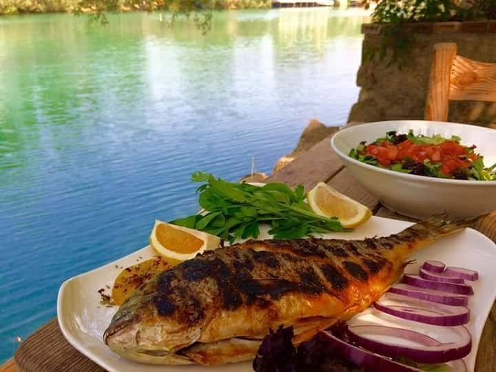 TAS KONAK GRILLED FISH BY THE RIVER - Food & Drink