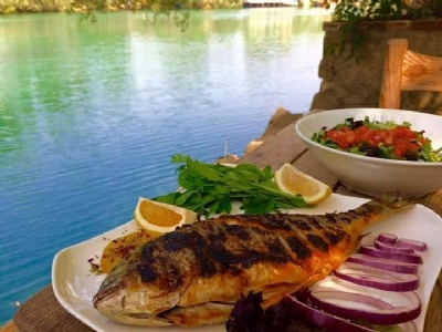 Food & Drink - TAS KONAK GRILLED FISH BY THE RIVER